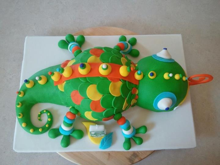 Gecko Cake Ideas