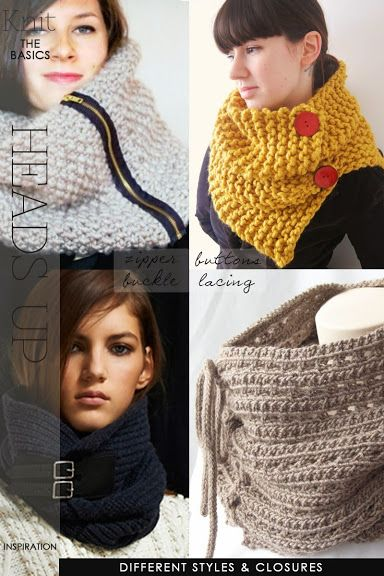 Cowls, circle scarves, neck warmers, whatever you call them, they are an easy gift to make | be inspired by different ideas and 4 free patterns to get you started | DiaryofaCreativeFanatic