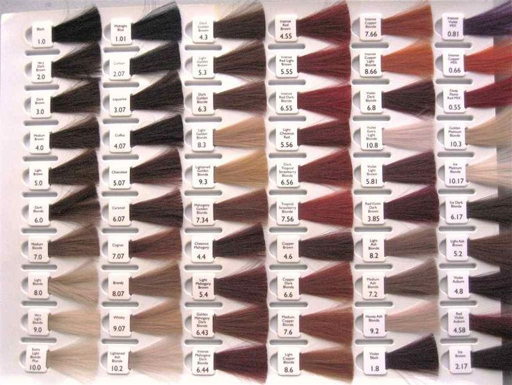 Populaire Les 25 meilleures idées de la catégorie Nuancier cheveux sur  BS78
