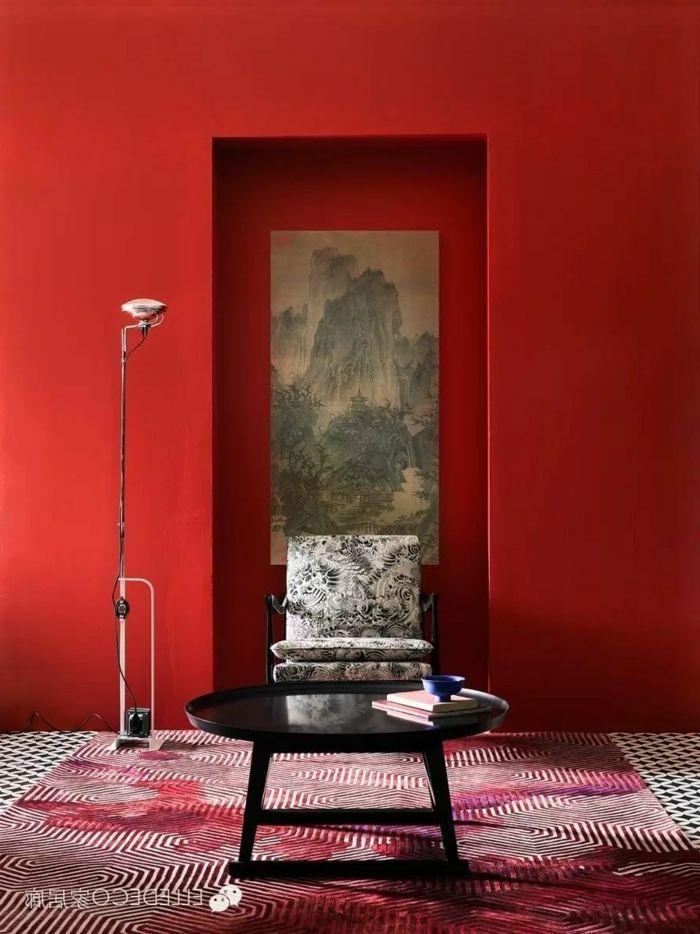 1001 Ideen Zum Thema Welche Farbe Passt Zu Rot Roten Wande Wandfarbe Grun Farben