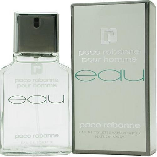 Eau De Paco By Paco Rabanne For Men. Eau De Toilette Spray 3.4 OZ by Paco Rabanne. Save 26 Off!. $40.95. Packaging for this product may vary from that shown in the image above. This item is not for sale in Catalina Island. Launched by the design house of Paco Rabanne.Whenapplyingany fragrance please consider that there are several factors which can affect the natural smell of your skin and, in turn, the way a scent smells on you. For instance, your mood, stress level, ag...