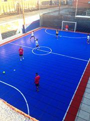 SNAPSPORTS OUTDOOR FUTSAL COURTS - The official Sport Floor of the USFF ( United States Futsal Federation, the governing body for FUTSAL in USA) http:/www.snapsports.com