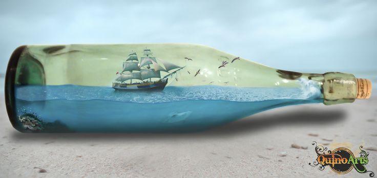 #Barco en #Botella