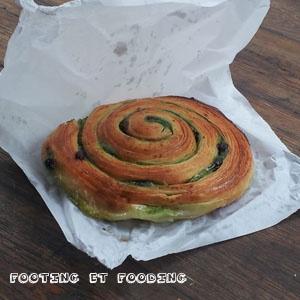 Escargot feuilleté pistaches/chocolat de #DuPainetdesIdees