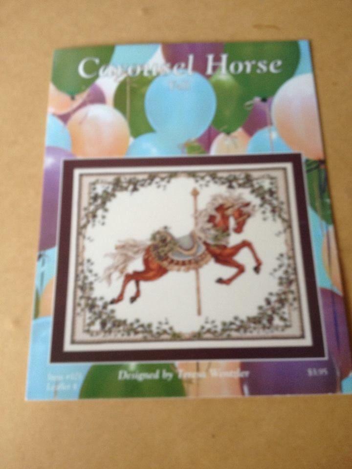 Carousel Horses Cross Stitch Charts And Fall Season On