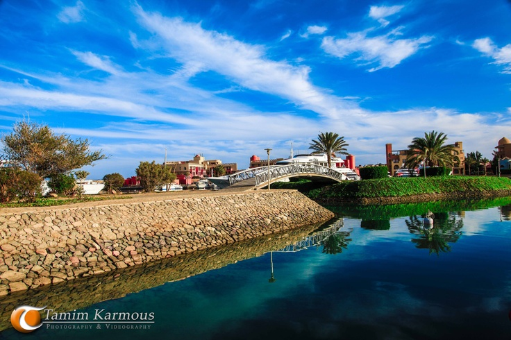 bridge reflecting the beauty