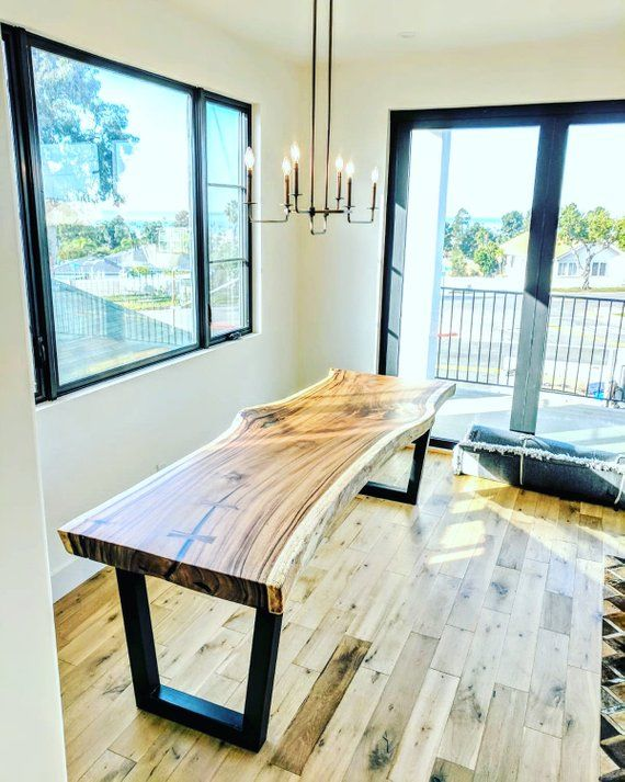 Custom Live Edge Dining Table Quote