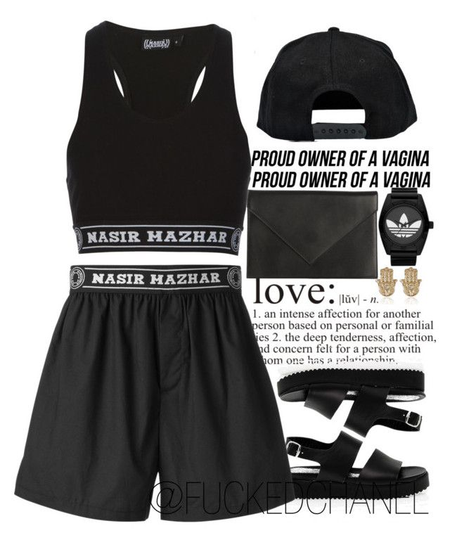 """"""" How much I feel , I live for your love """" by fuckedchanel ❤ liked on Polyvore featuring Carré Royal, San Crispino, Nasir Mazhar, adidas, Boohoo and River Island"""