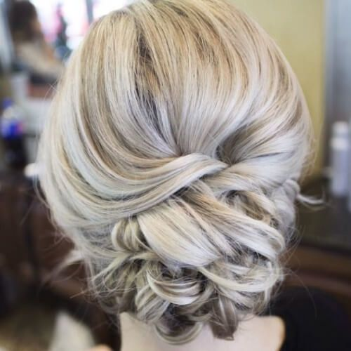 Brautfrisuren langes haar hochgesteckt