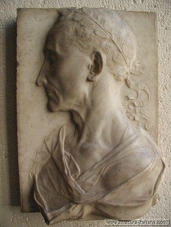 Desiderio da Settignano - Profilo uomo (Parigi, Louvre) .jpg
