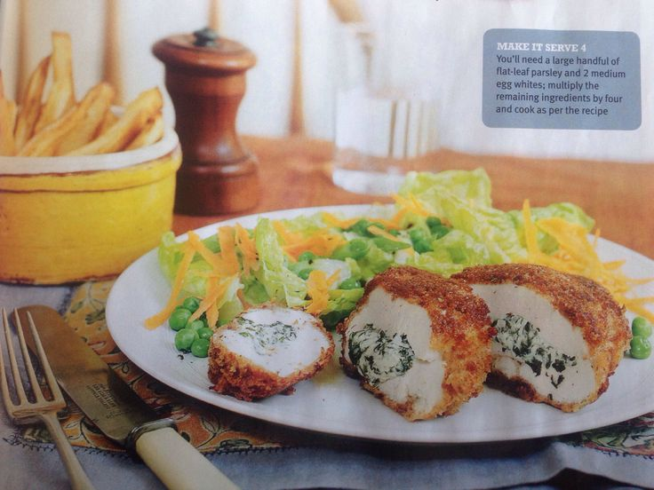 Homemade chicken Kiev- a slimming world recipe. Yummy scrummy