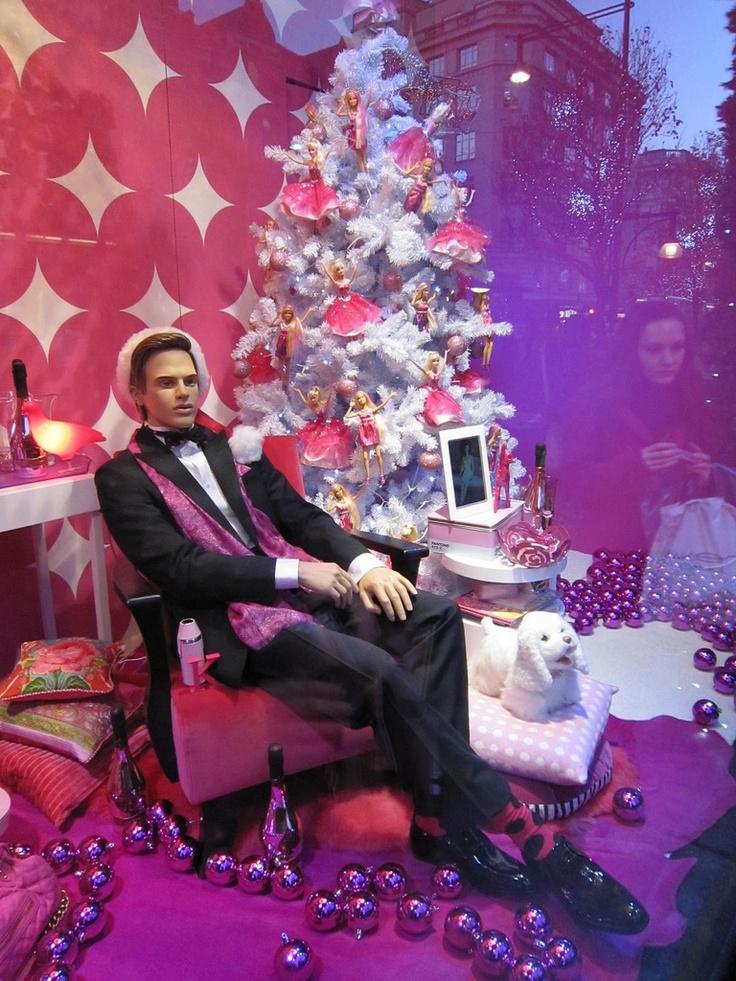 barbie Fashion Window Displays Selfridges Selfiridges Christmas Window Displays Oxford Street London ...
