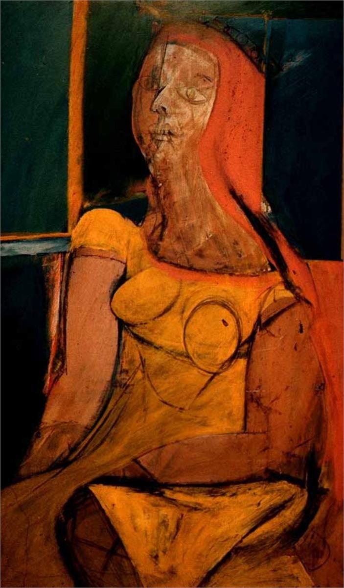 Queen of Hearts - Willem de Kooning