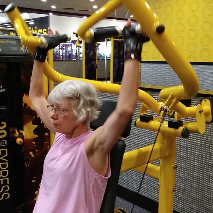After using the trx area and kettlebells we moved over to