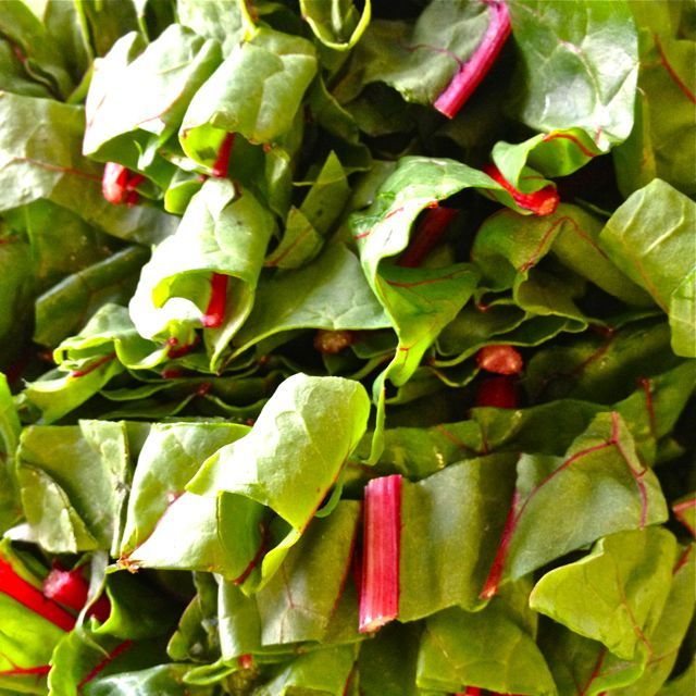 Swiss Chard with fruit & nuts - something that you just have to try - old European thing, but totally good NOW!