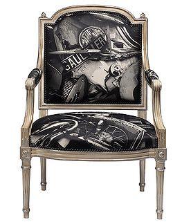 Jean Paul Gaultier fabric