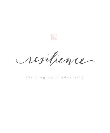 resilience, an ordinary magic | KARMOMO
