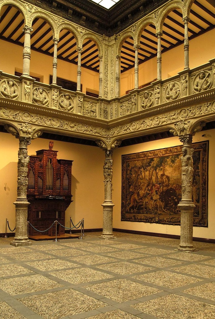 Patio de la Infanta. Zaragoza, Spain