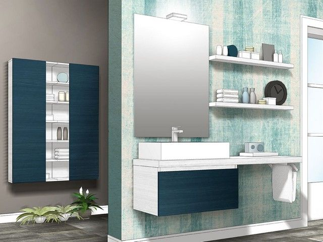 49 best images about mobili bagno componibili qubo on - Mobili bagno componibili ...
