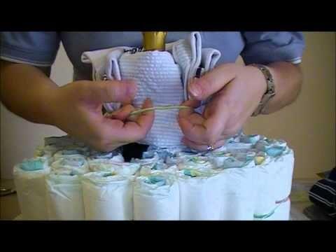 Come fare una torta di pannolini