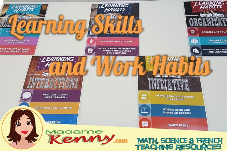 Learning skills and work habits are just as important as the content being taught.  In this blog post I discuss how I am changing how I assess work on skills, work habits and content. #learningskills #workhabits #middleschool #madamekenny