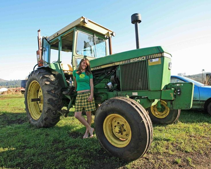 John Deere Girls : Best images about girls with tractors on pinterest