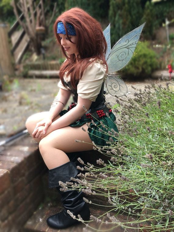 Pixie Hallow, The Pirate Fairy, Zarina Inspired Fairy Wings - Made to Order