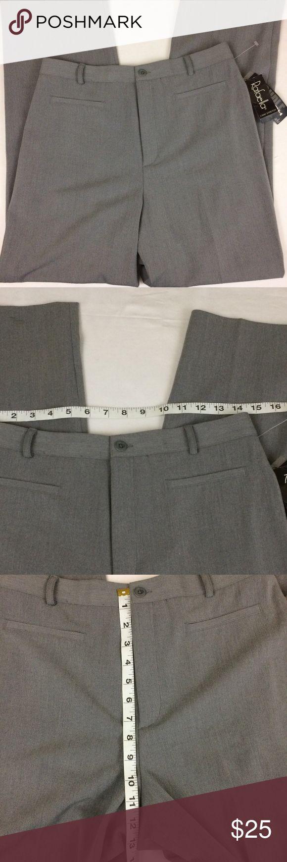 Womens Gray Stretch Size 10 Dress Pants Womens Gray Stretch Size 10 Dress Pants Rafaella Pants