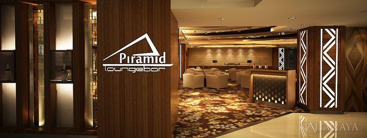 Piramid Bar and Lounge-Gate- design planning at Somerset Hotel Surabaya Indonesia 2012