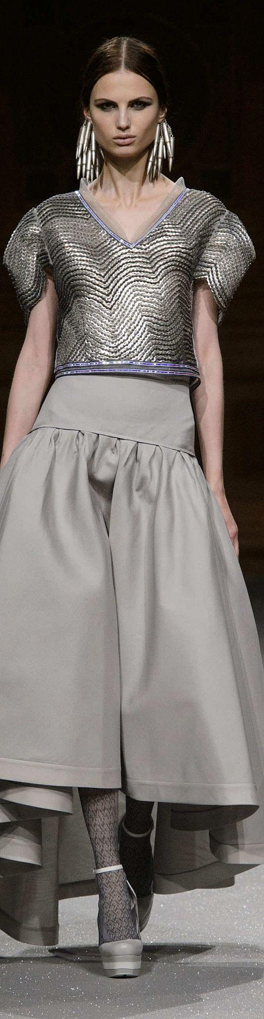 Oscar Carvallo Collection Fall 2014 Couture | The House of Beccaria~