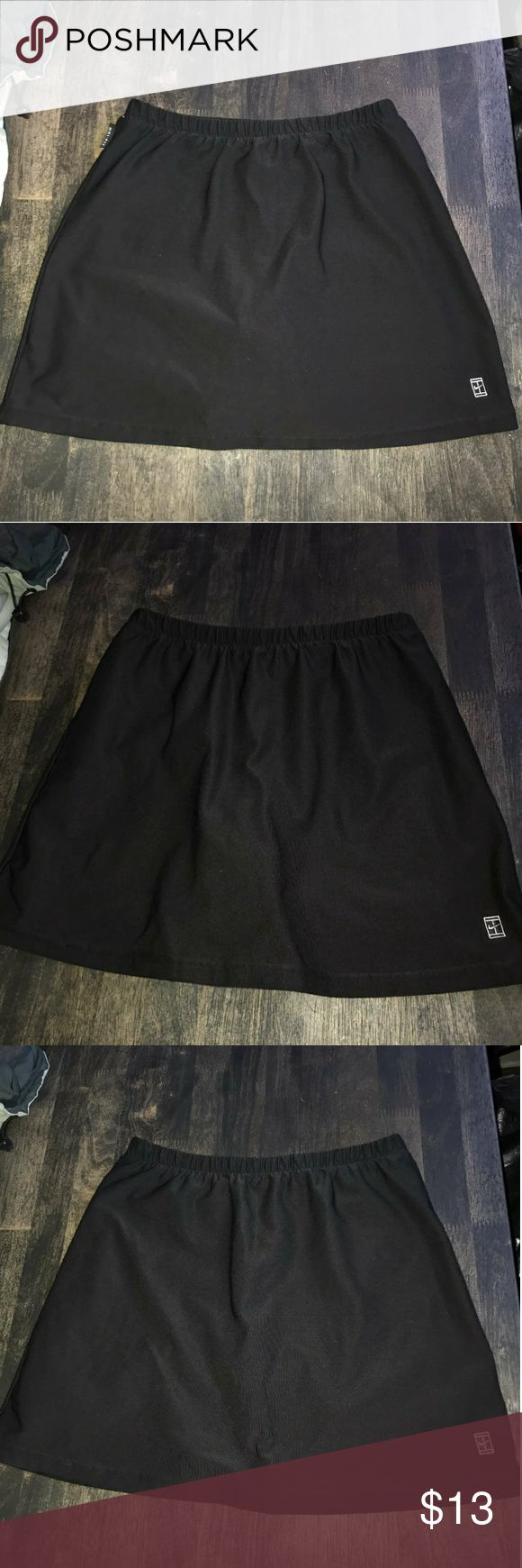"Nike dri fit running/tennis mini skirt Good conditions no pilling no tears no stain. Like new size xsmall (0-2)  Its 13.5"" in length. Super cute Fits well with followimg measurements  Waist 24-26 