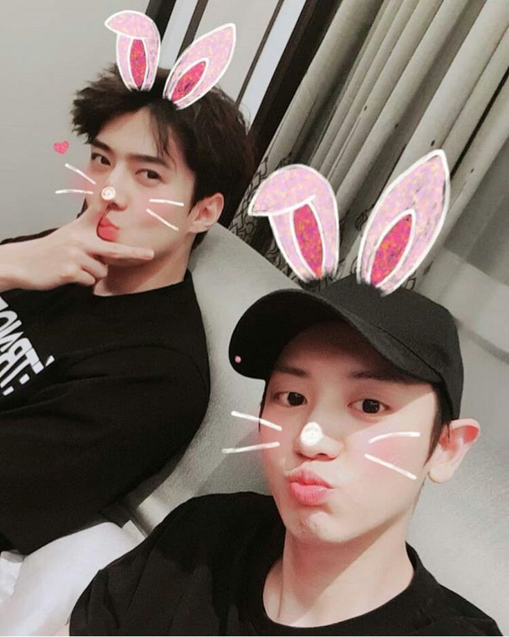 180317 #CHANYOL ins update with #SEHUN