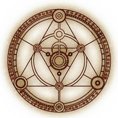 Thaumaturgy symbol , one of my favorites (Working miracles or magic)