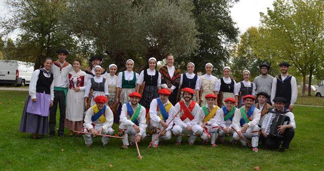 cosasdeantonio: Fiestas de Echavacoiz 2015 - Dantzaris