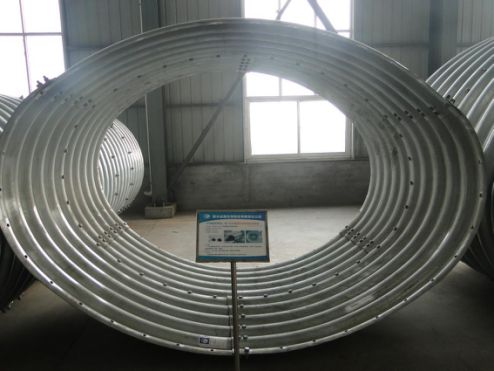 Corrugated steel arch pipe,Supply Corrugated steel arch pipe in China
