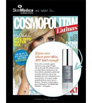 Vitamin C & E Complex - As see in Cosmopolitan