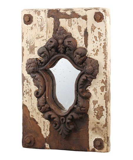 Established 98 French Country Wall Mirror | zulily