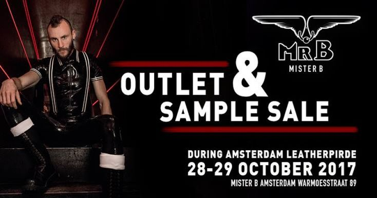 Mister B Amsterdam Outlet & Sample Sale -- Amsterdam -- 28/10-29/10