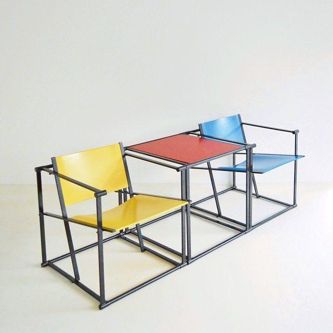 beton brut, radboud van beekum cube chair