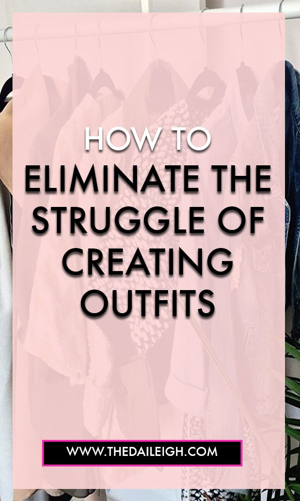 Learn the wardrobe pieces that make getting dressed easier and help to coordinate your outfits without the constant struggle