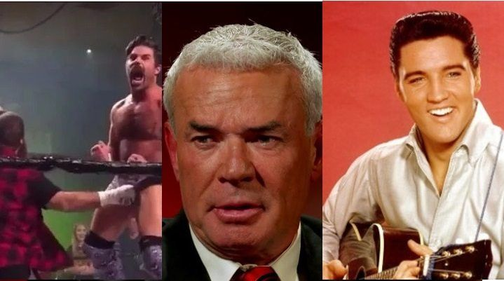 How Elvis Presley helped Eric Bischoff make it through the Joey Ryan/Mick Foley controversy