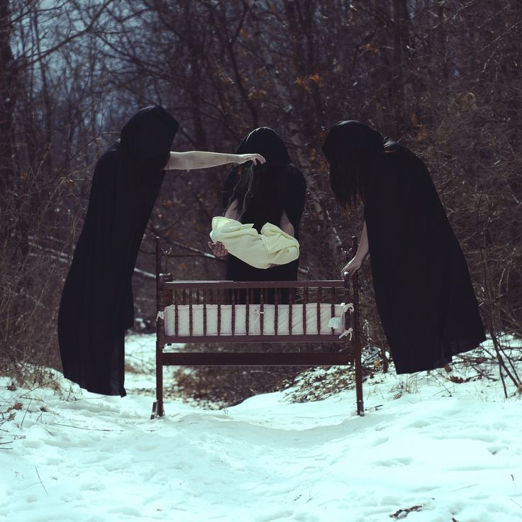 Other Horror Pics 2 Christopher McKenney is a conceptual photographer from Pennsylvania who manages to find true art in the dark and twisted. He specializes, as you'll see, in horror and surrealist photography.  Most of the subjects in his photos are faceless, and disembodied in some way. Even though you can't directly see their faces, you can see the pain behind the veil. As you might imagine his pictures are more than a little creepy.