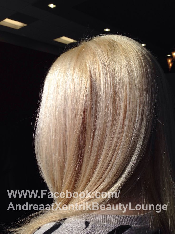 Warm vanilla blonde hair color | Love What U Do ...