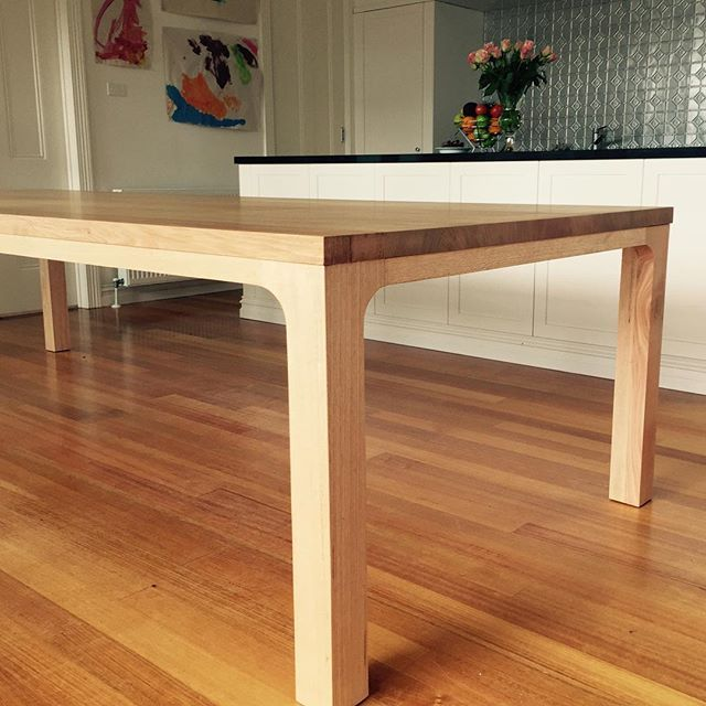 Best Timber Dining Tables Images On Pinterest Custom Dining