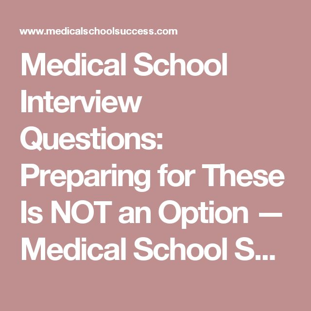 Best 25+ Medical school interview questions ideas on Pinterest - sample resume for medical school application
