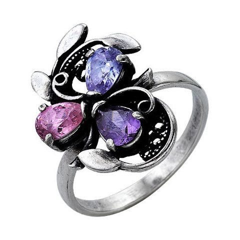 Купить модные кольца с эмалью, бирюзой и позолотой в интернет-магазине