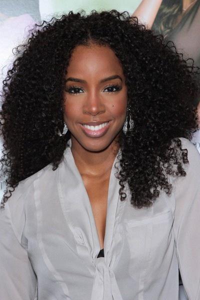 ~ Kelly Rowland, hair... love it,sis!