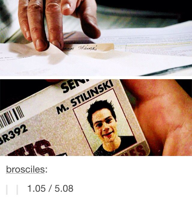 who watch MTV's show, Teen Wolf, know that Stiles Stilinski's real name has been a mystery for a long time. Fans have been speculating online but recently, MTV dropped more clues. 2 years ago, during season 3, MTV answered this ask on tumblr, confirming that Stiles' Mom was Polish and that his name is Polish. People think its Mienim or Meonenim or MaGenim....