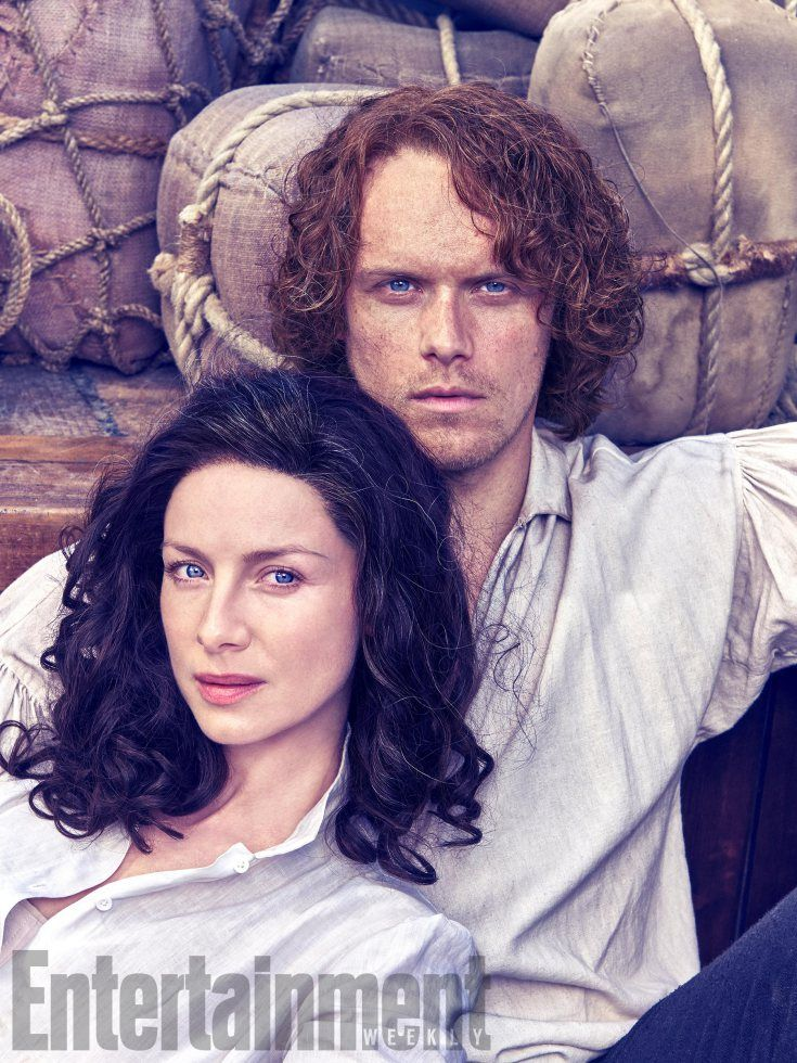 There are no words. This is stunning. (Caitriona Balfe and Sam Heughan Outlander Season 3)