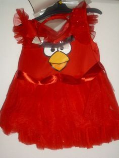 Red Angry Birds NEW Halloween Costume W/Flair Dress SIZE SMALL Girl's Costume http://www.shopprice.com.au/angry+birds+costume